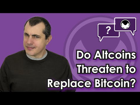 Bitcoin Q&A: Do altcoins threaten to replace bitcoin?