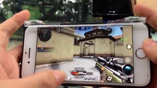 tay cầm chơi game tập kích, cf mobile, rules of survival, free fire....