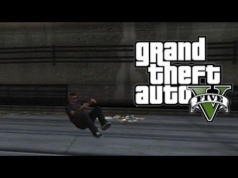 GTA V Online Funny Gameplay - Crazy Frog Glitch! (GTA 5)