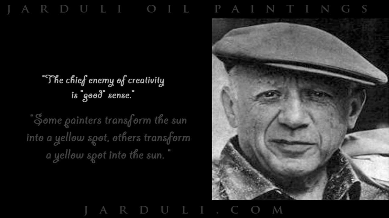 Pablo Picasso Quotes - YouTube