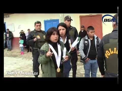 Recontrucción de asesinato en Tauca
