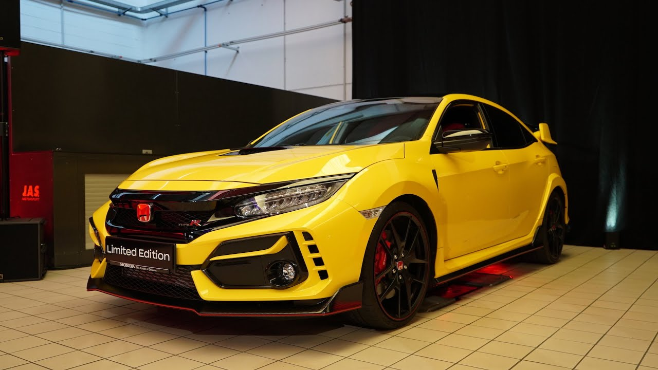 2021 honda civic type r limited edition first look  youtube