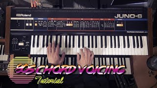 80s Chord Voicing Tutorial