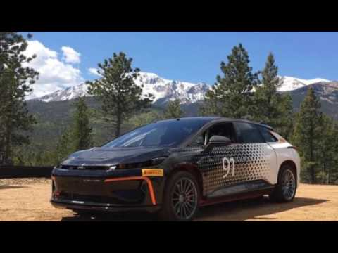 Faraday Future found a tough new test for its FF 91 electric car