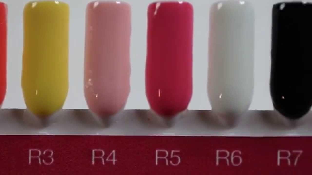 Crystal Nails Royal Gel színek palettán - YouTube
