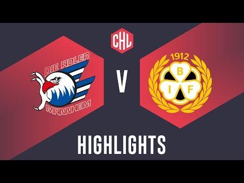 Highlights: Adler Mannheim vs. Brynäs IF