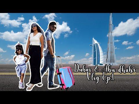 Dubai & Abu dhabi Vlog Episode 1| Miracle Garden, Grand Mosque and Corniche | Artistic Alisha