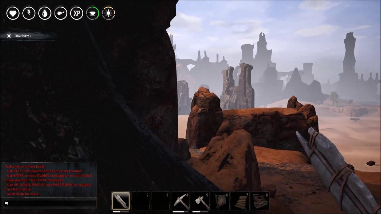 Conan Kletterausrüstung : Conan exiles durch die wüste youtube