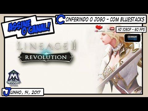 LINEAGE 2: REVOLUTION | Conferindo o Jogo - Com Bluestacks