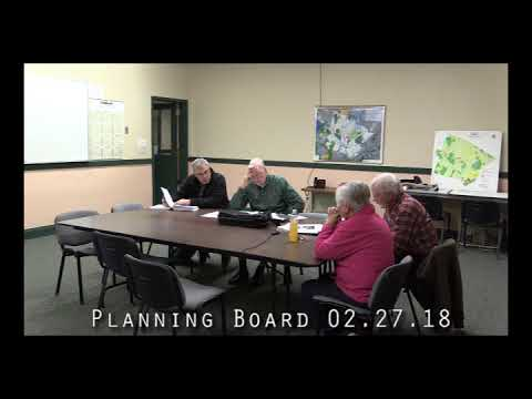 Planning Board 02.27.18