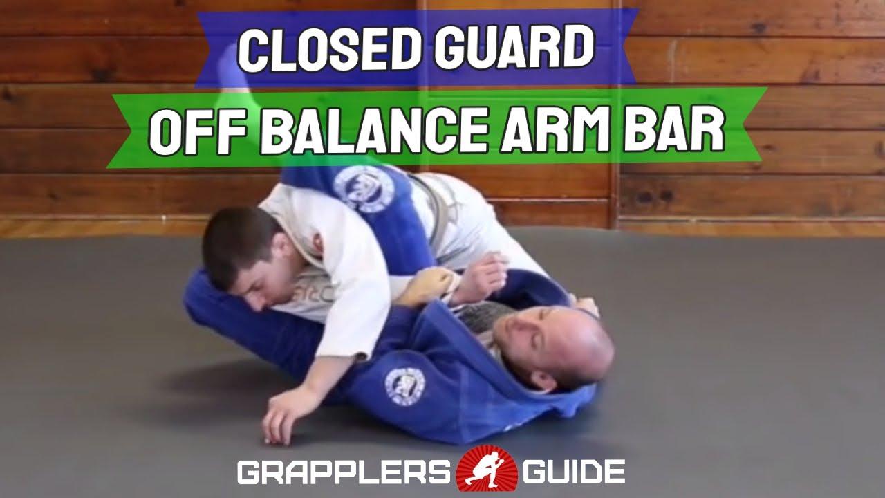 Closed Guard Off Balance Armbar Set Up - Jason Scully