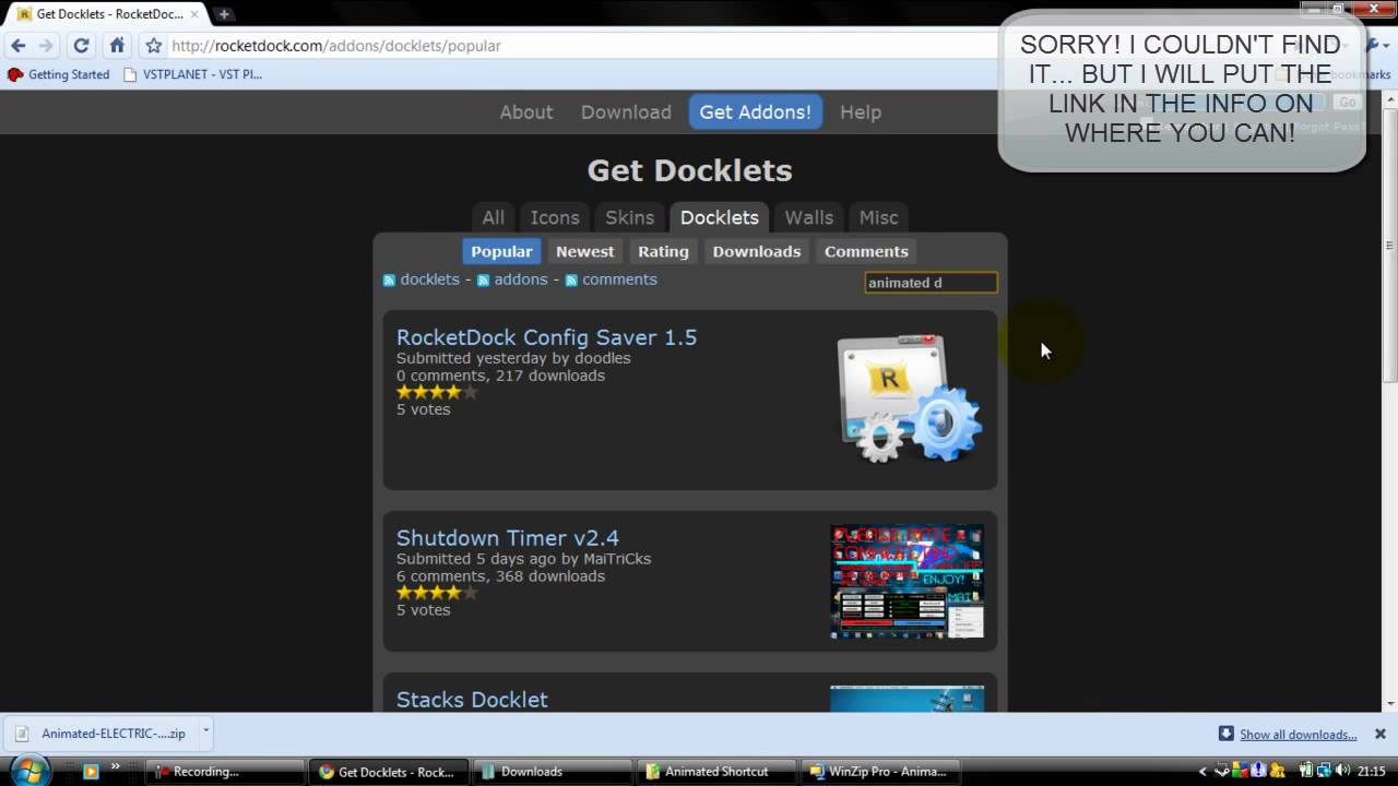 objectdock docklets download