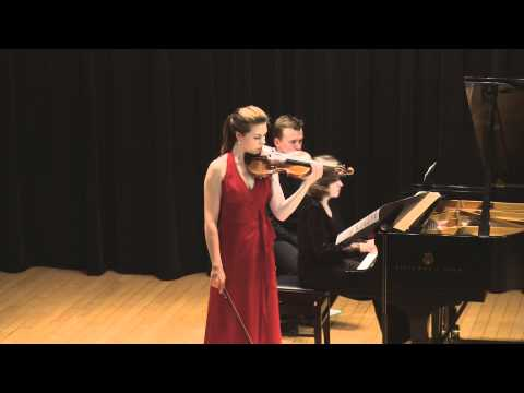 Tessa Lark plays Bartok Sonata No.1 Op.21 (SiMon)