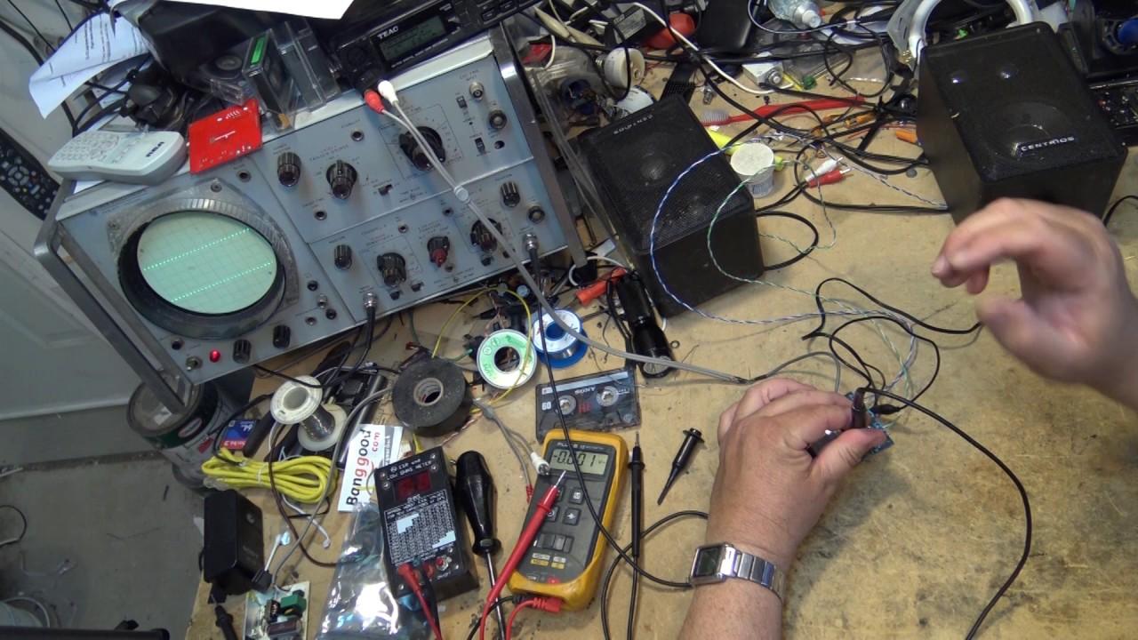TDA7492 Class D digital amplifier board review