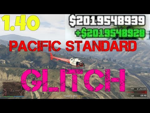 EVERY PACIFIC STANDARD GLITCH + HELICOPTER 100% WORKING! JUNE (GUNRUNNING UPDATE)