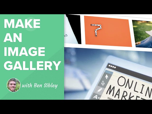 How to Make a Photo Gallery in WordPress (Without a Plugin)