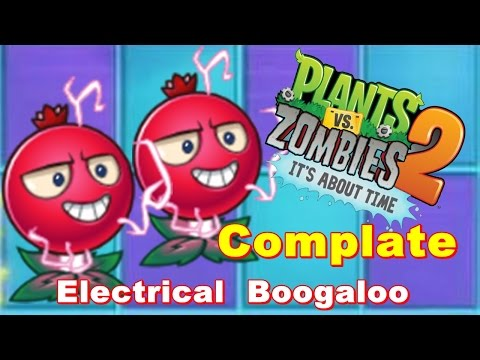 Plants vs. Zombies 2: It's About Time : Epic Quest: Electrical Boogaloo-Complate.: Gameplay 2016