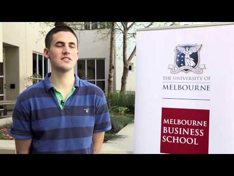 Why Melbourne Business School? Michael Folkson