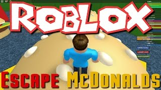 Greg and Nick Play Roblox - Escape McDonalds Obby!