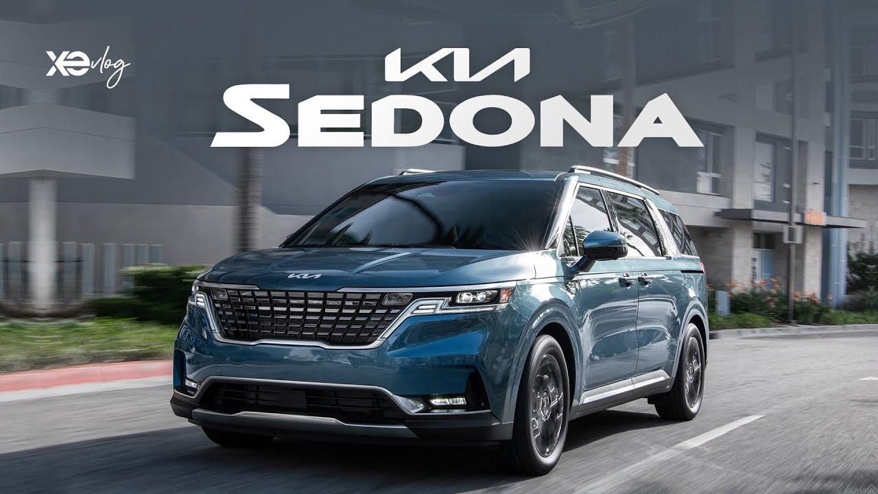 KIA Sedona 2022 với logo mới, ngập tràn công nghệ chuẩn bị về Việt Nam | Xe Vlog