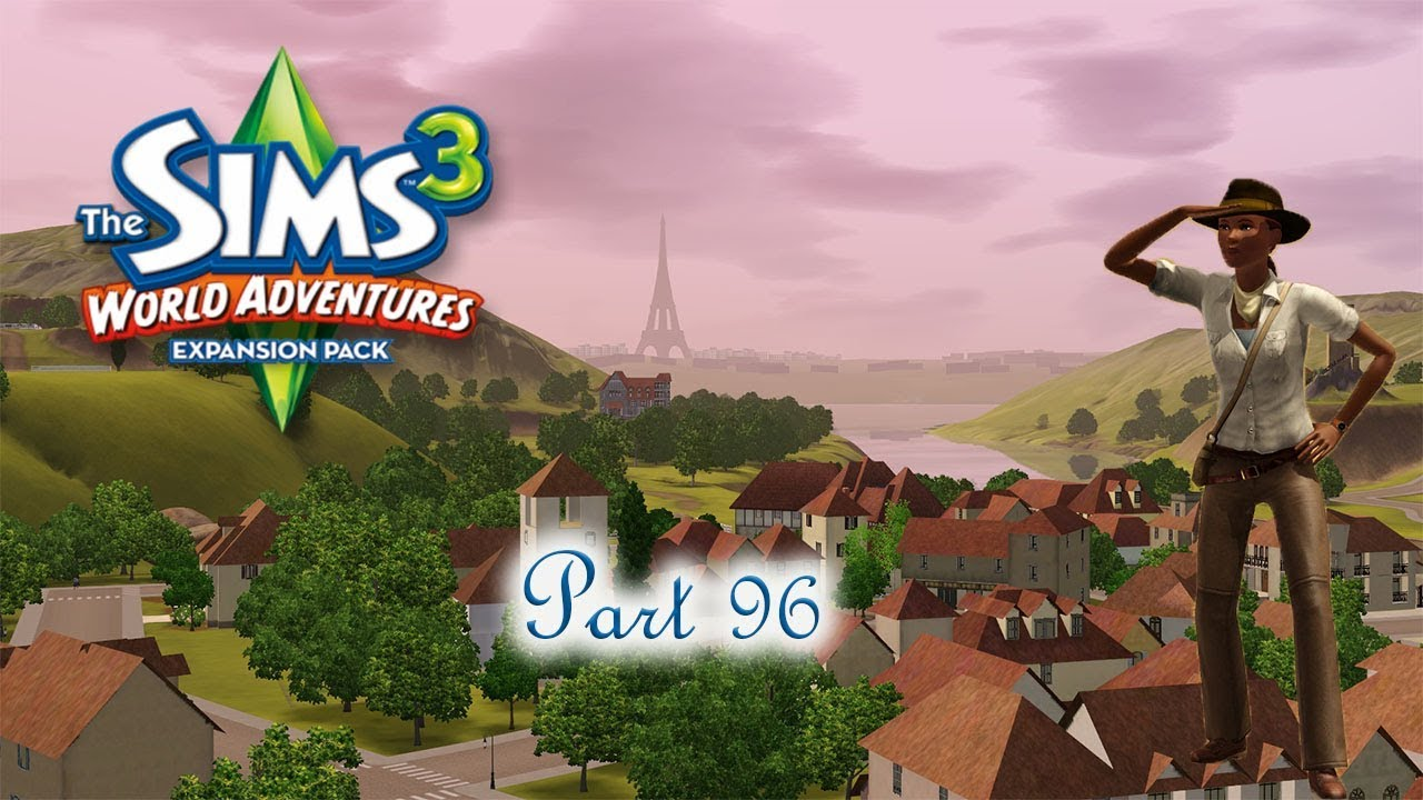 tomb of jean necteaux the sims 3 world adventures part 96 youtube