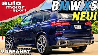 NEU - Der neue BMW X5: Fettes X | Vorfahrt (Review) | auto motor und sport