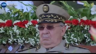 لقاء بن غبريط بالجنرال طرطاق يخطف الأضواء بالمدرسة العسكرية بشرشال