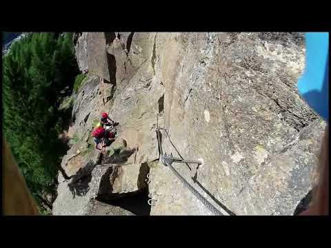 Moosalm klettersteig