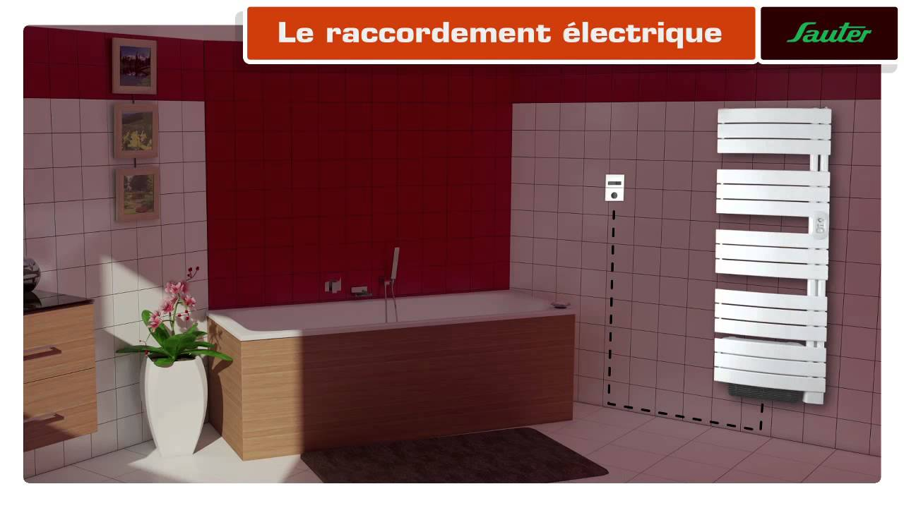 Installer soi m me un radiateur s che serviettes youtube for Portant serviettes salle de bain