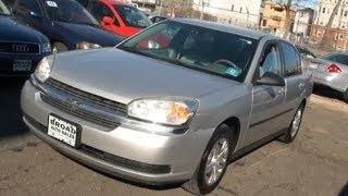 2005 Chevrolet Malibu Vehicle Overview