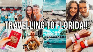 TRAVELLING TO FLORIDA 2019 - DISNEY WORLD VLOGS!! Ad-gifted trip