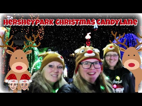 Hersheypark Christmas Candylane 2019
