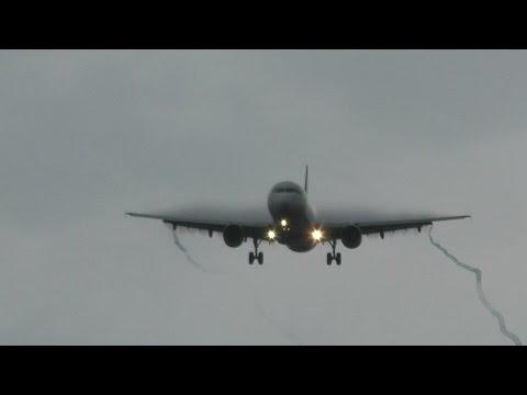 ✈雨上がり 29機の16Lアプローチ(成田空港/WX970M)