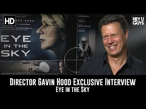 Director Gavin Hood Exclusive Interview - Eye in the Sky Mp3