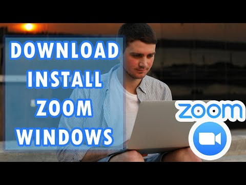 How To Download Zoom And Install For Windows Tutorial