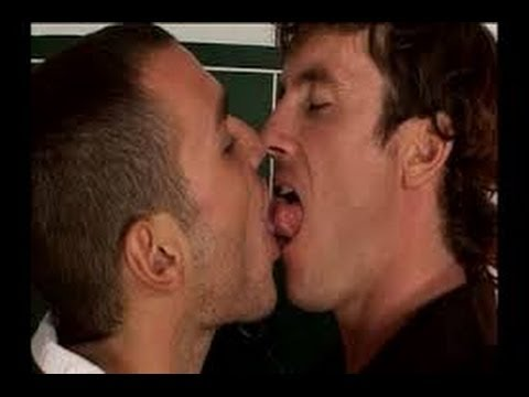 Gay tongue kiss film