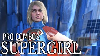 Injustice 2 - Supergirl - Master Combo Guide - Easy to Advanced