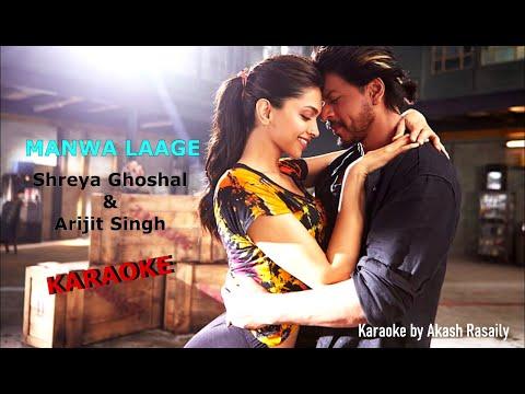 Manwa Laage - Karaoke by AAAS MUSIC