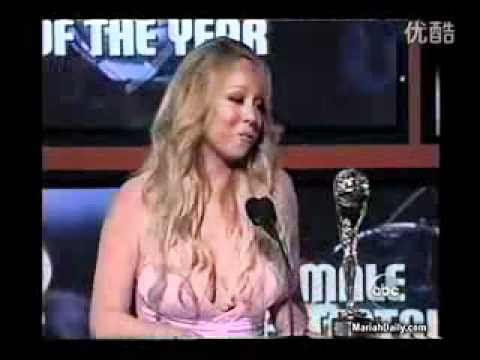 Mariah Carey - Female Entertainer Of The Year @ the 2005 World Music Awards