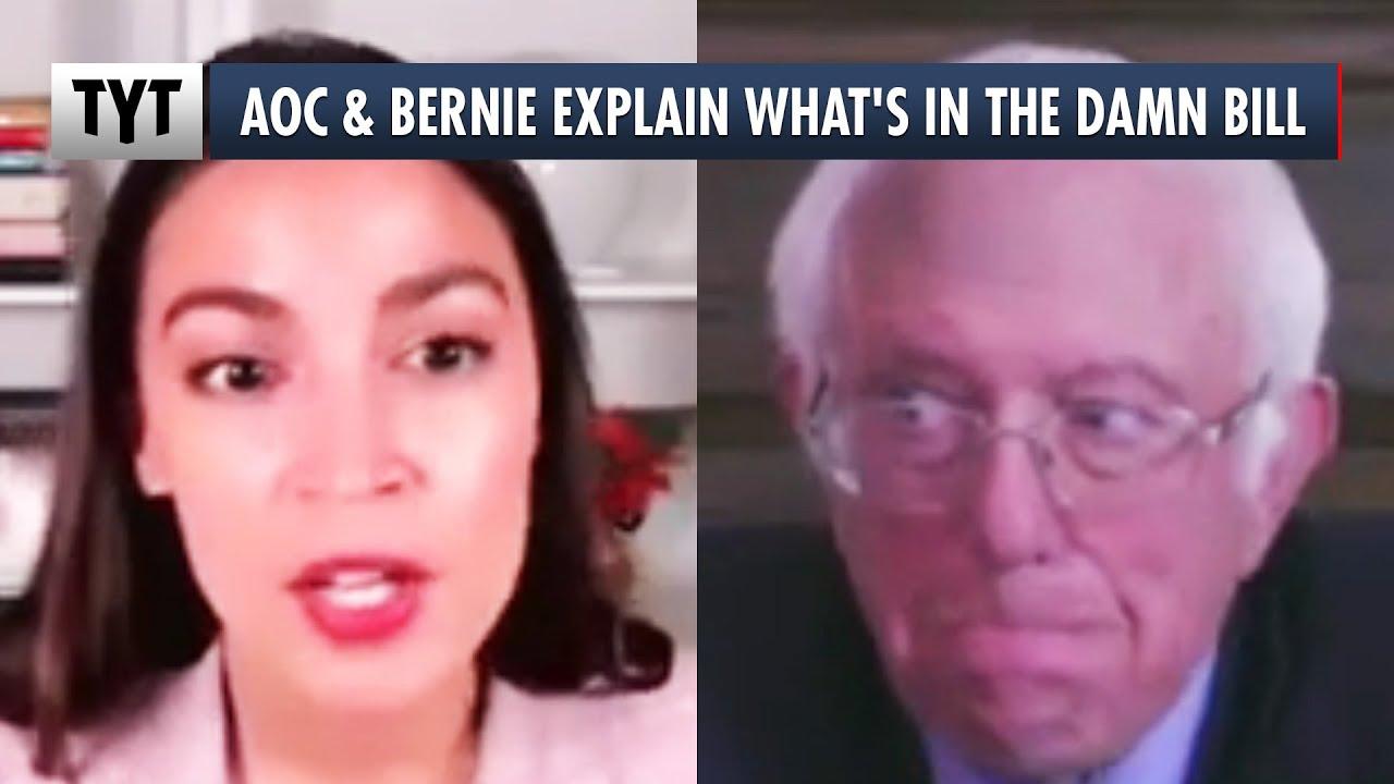 Download AOC & Bernie Explain What's In The Damn Bill