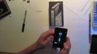 SIM-Karte in MICRO-SIM / für iPhone 4 und iPad