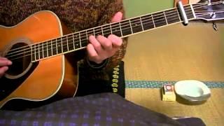 素人のギター弾き語り あなたと私 可愛和美 詞・橋本淳、曲・筒美京平、...