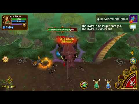 Arcane Legends -Test Ebon Daggers Solo Boss Map
