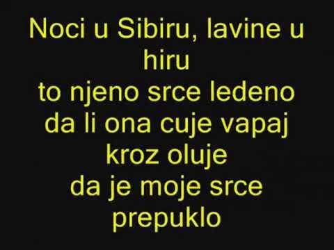 Sasa Matic Noci U Sibiru Karaoke (BY Tefik)
