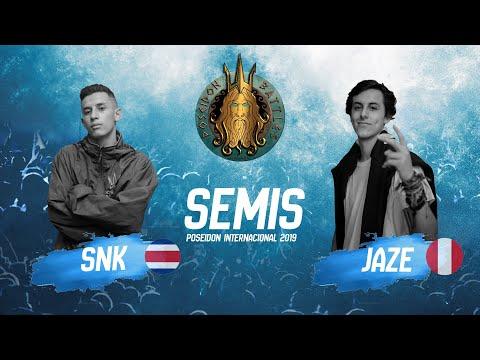 JAZE VS SNK - SEMIFINAL POSEIDON BATTLES INTERNACIONAL 2019