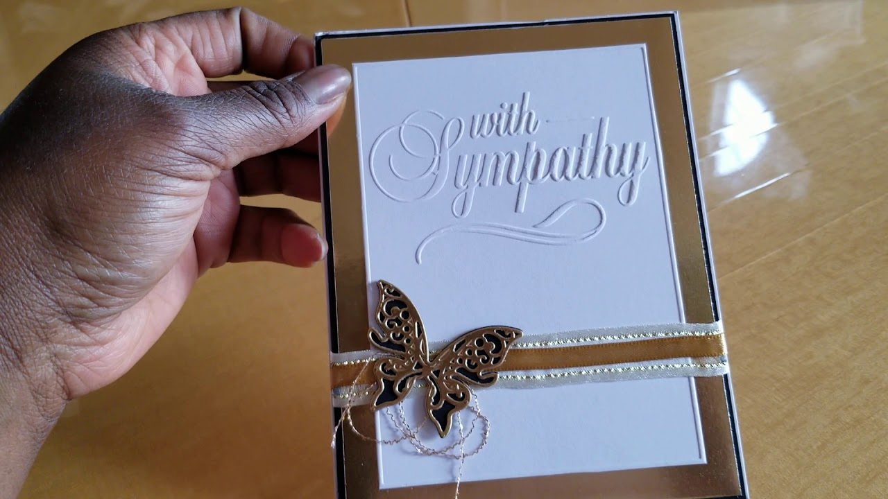 beautiful sympathy cards received and birthday rak  youtube