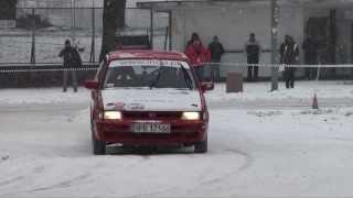 Łukasz Kowalski Subaru Justy indp.pl - 2 Runda Królewski Winter Cup KWC - Tor Służewiec 19-01-2014