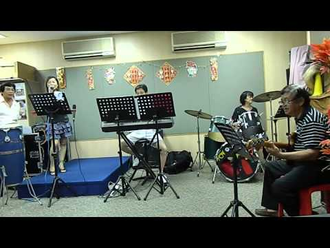 Karaoke singing with live band @ Queenstown Community Center