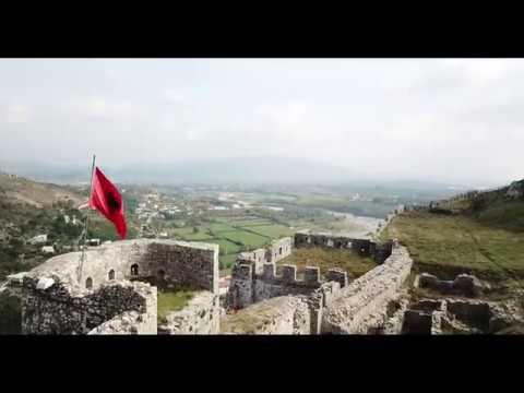 Rozafa Castle (Aerial Drone Footage Albania)