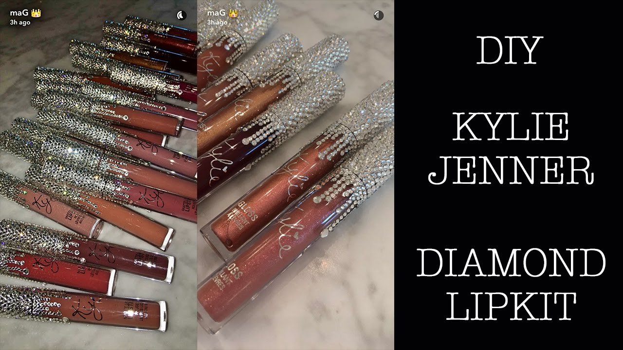 Diy Kylie Birthday Collection Bedazzle Lip Kit